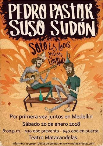 PEDRO PASTOR Y SUSO SUDÓN