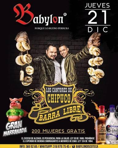 BABYLON-LOS CANTORES DE CHIPUCO
