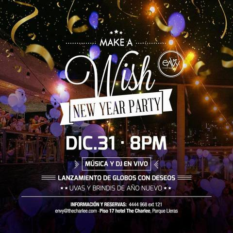 WISH NEW YEAR PARTY