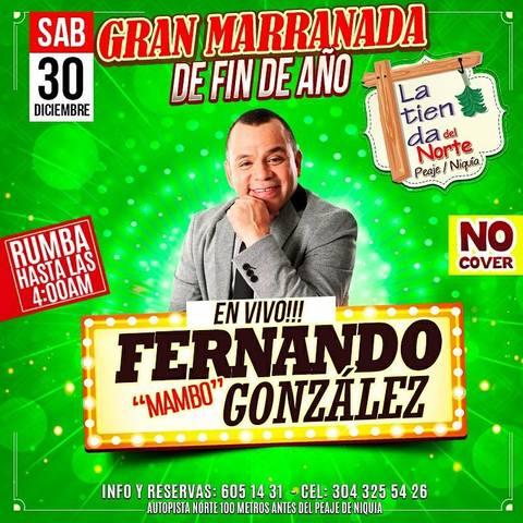 FERNANDO GONZÁLEZ EN LA TIENDA DEL NORTE