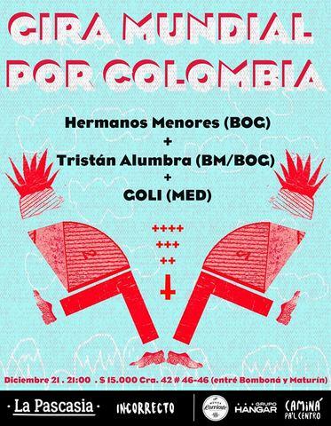 Gira mundial por Colombia // Medellín