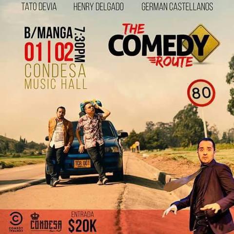 Noche de Comedia en Condesa