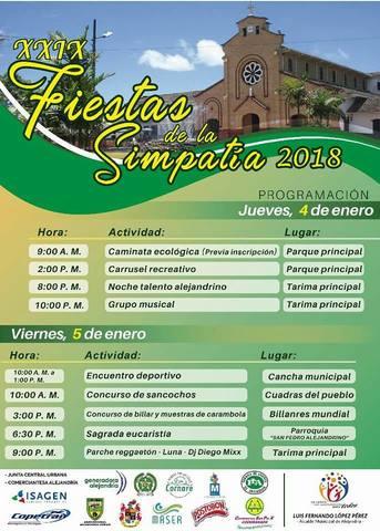 XXIX Fiestas de la Simpatía 2018
