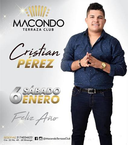 Cristian Pérez en Macondo