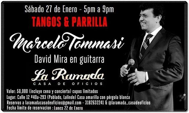 Gran Evento de Apertura con Tangos y Parrilla en La Ramada