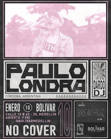 Paulo Londra en Bolívar