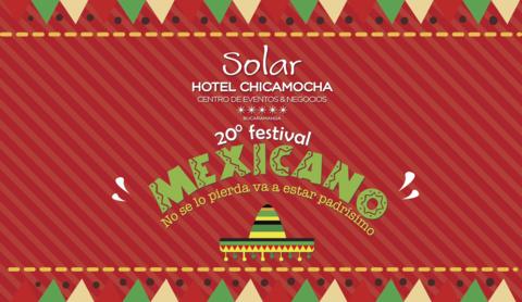 Vive el festival mexicano en el Hotel Chicamocha