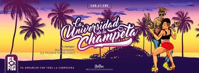 LA UNIVERSIDAD DE LA CHAMPETA EN EL PICÓ