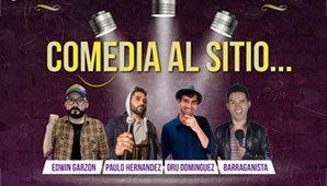 SHOW DE COMEDIA EN EL SITIO