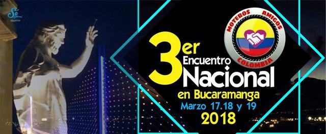 Tercer encuentro nacional de moteros en Bucaramanga
