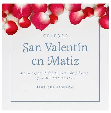 CELEBRE SAN VALENTÍN EN MATIZ