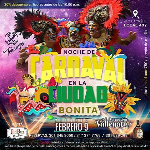 Noche de Carnaval en Tenampa
