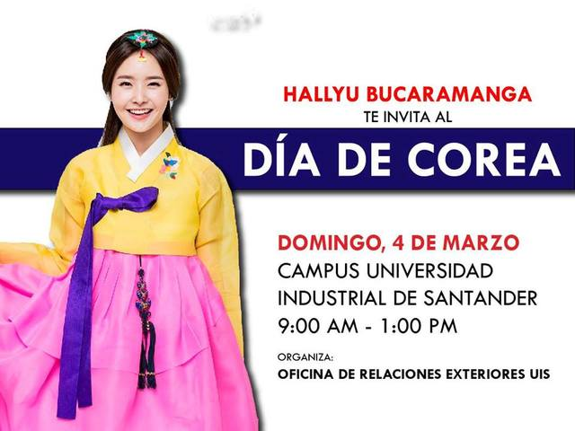 Día de Corea en Bucaramanga