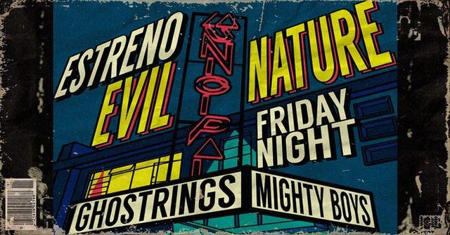 Lanzamiento de Evil Nature, el álbum de Ghostrings