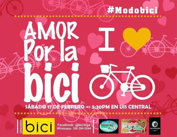 """Bicipaseo """"Amor por la bici"""" en la UIS"""