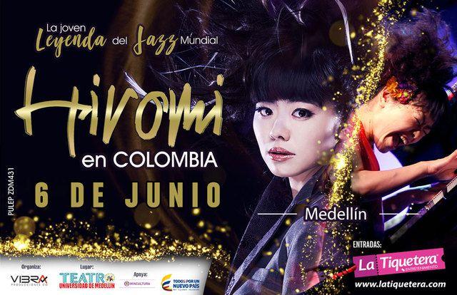 Hiromi en colombia