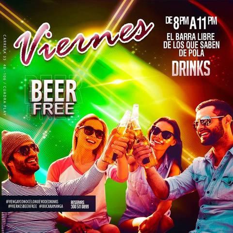 Viernes de barra libre en Drink