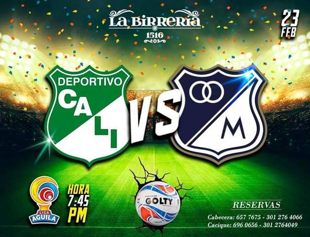 Fútbol colombiano en la Birrería 1516