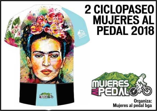 2 Ciclopaseo Mujeres Al Pedal 2018