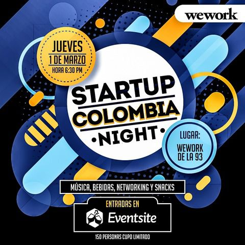 CANCELADO - STARTUP COLOMBIA NIGHT