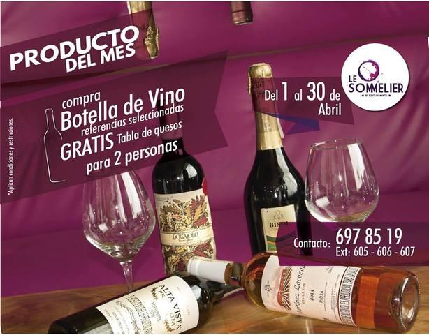 Producto del Mes, vinoteca Le Sommelier