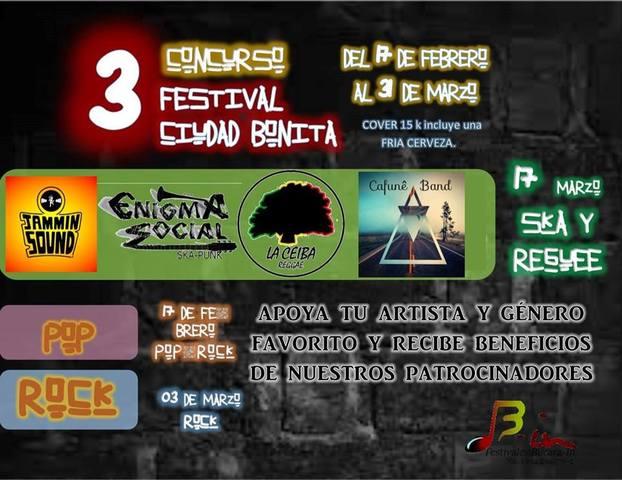 3° Festival Ciudad Bonita Sesión Reggae y Ska