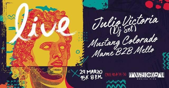 ELECTRÓNICA CON EL DJ JULIO VICTORIA EN BUCARAMANGA