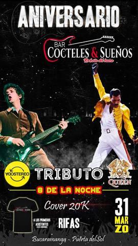 Aniversario Tributo a Soda Stereo y Queen