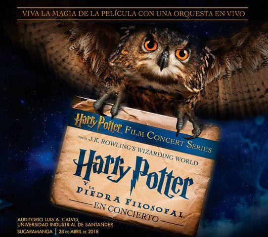 Película Harry Potter en Concierto en la UIS