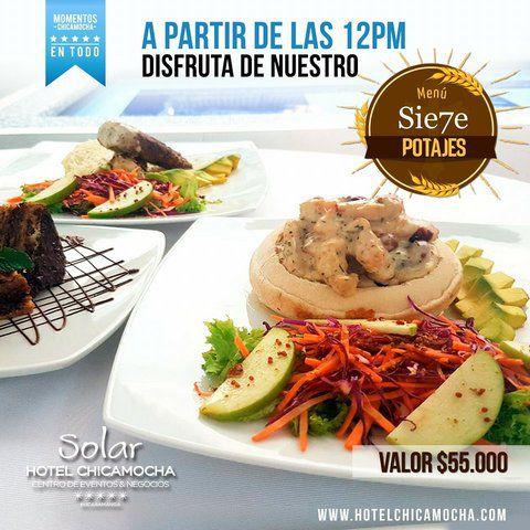 DELEITE SU PALADAR EN SEMANA SANTA CON EL HOTEL CHICAMOCHA
