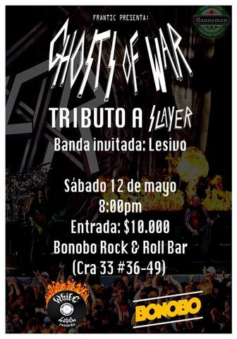 Ghosts Of War: Tributo a Slayer.