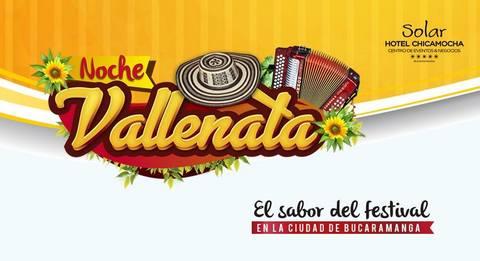 NOCHE VALLENATA EN EL HOTEL CHICAMOCHA