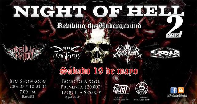 Night Of Hell 2 Reviving the Underground