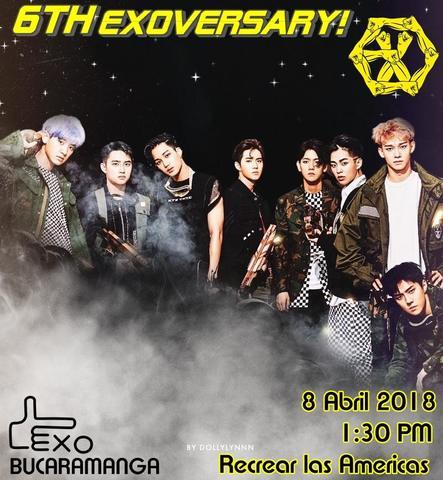 Celebra los 6 años de la banda surcoreaña EXO