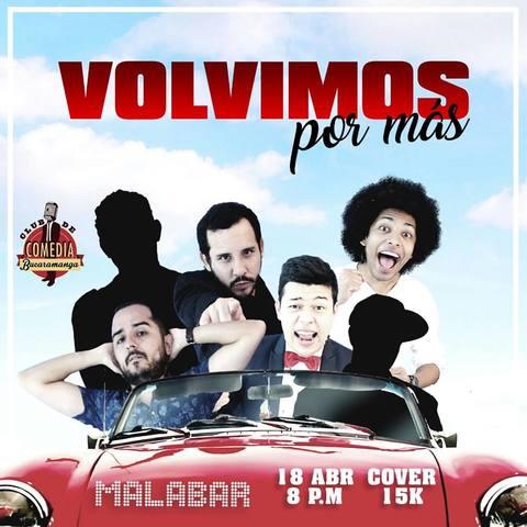 Vuelve la risa a Malabar Disco con el Club de Comedia