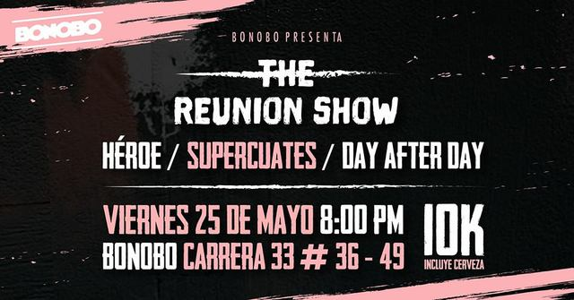 The Reunion Show in Bonobo Bar