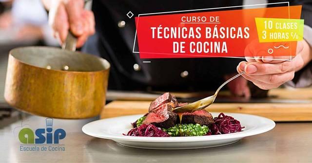 Curso de Técnicas Básicas de Cocina