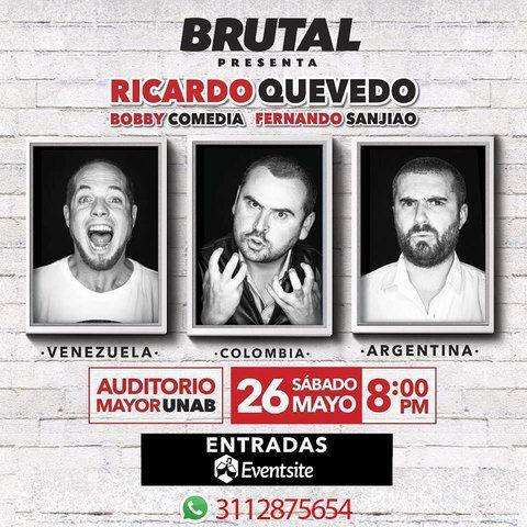 Vuelve Ricardo Quevedo a Bucaramanga