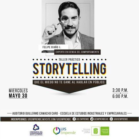 Taller Práctico Storytelling en la UIS