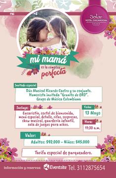 CELEBRE EL DÍA DE LA MADRE EN EL HOTEL CHICAMOCHA