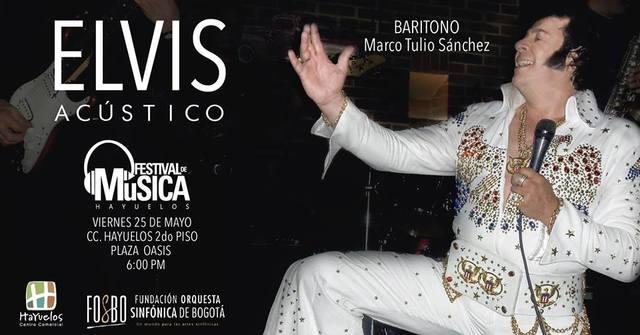 Elvis Acústico en el Festival de Música