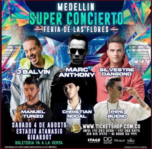 Super Concierto - Feria de las Flores