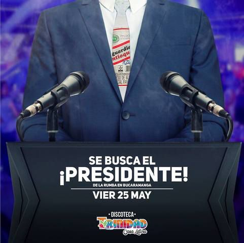 Se busca el presidente De la Rumba en Bucaramanga