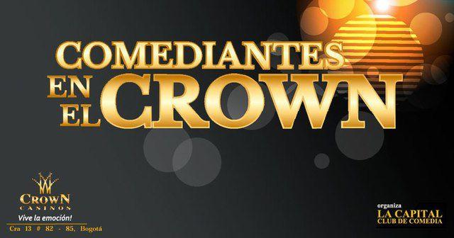 Noche de comedia en el Casino Crown