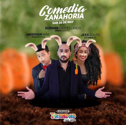 Comedia Zanahoria en Trinidad Casa Latina