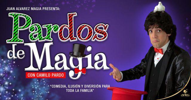 Pardos De Magia, con el mago Camilo Pardo