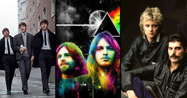 Tributo a  Queen, Pink Floyd  y The Beatles en Bogotá