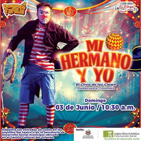 El Circo de los Clown en El Teatro Corfescu