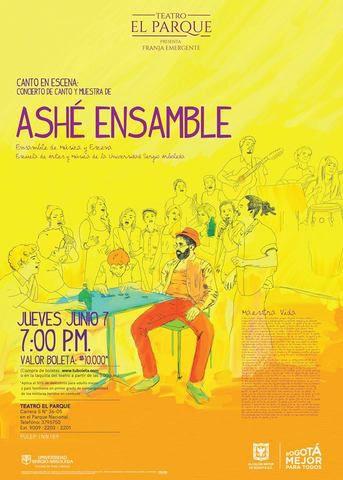 Canto en escena con Ashé Ensamble