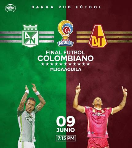 La Final del Fútbol Profesional Colombiano